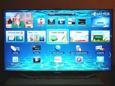 Recensione Samsung Smart TV UE46 ES8000