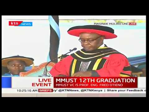 Masinde Muliro University 12th graduation ceremony