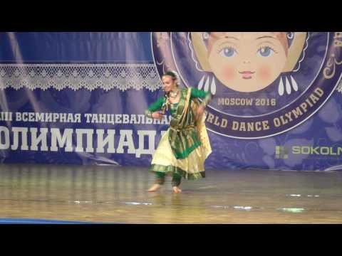 Viktoria Larkina. Championship of Russia 2016. ORTO. Bollywood. (видео)