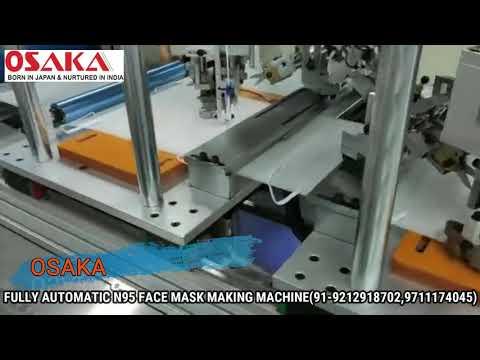Osaka Fully Automatic N95 Face Mask Making Machine