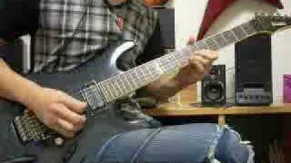 Dragon Force Black Fire guitar cover ful.ver