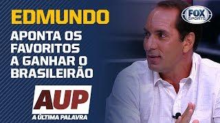 """""""PALMEIRAS E INTERNACIONAL"""", Edmundo Aponta Os Favoritos A Ganhar O Brasileirão"""