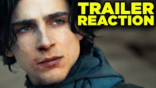 DUNE Trailer Reaction! First Thoughts & Recap! (Dune 2020)