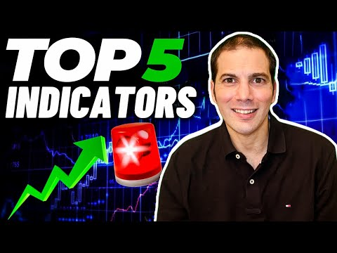 Top 5 Technical Analysis Indicators for Beginners [ Ultimate Tutorial / Guide ]