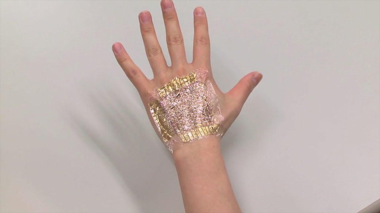Следующей носимой технологией может быть… ваша кожа