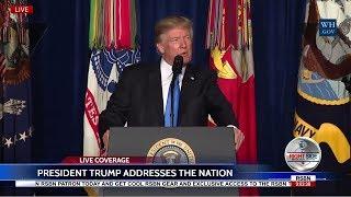 FULL SPEECH: President Trump Addresses the Nation on Afghanistan 8/21/17