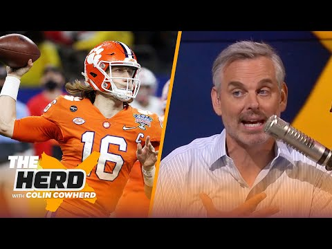 Colin Cowherd does a 2021 NFL mock draft after blockbuster trades | NFL | THE HERD