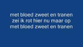 Andre Hazes Met Bloed Zweet En Tranen + Songtekst