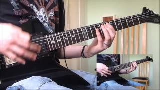 "Arch Enemy ""Enemy Within"" Guitar Cover"