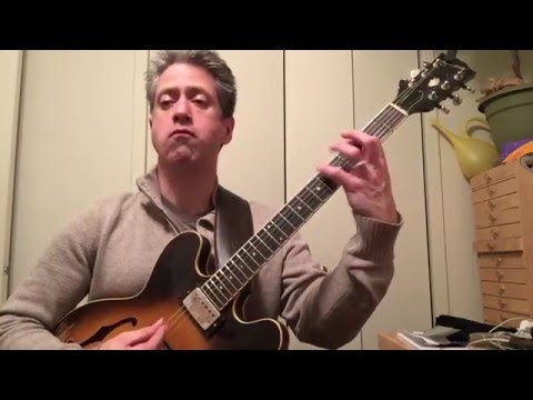 "Guitarist Paul Pieper plays Charlie Parker's ""Quasimodo"""