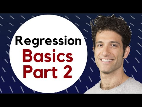 Regression II: Degrees of Freedom EXPLAINED | Adjusted R-Squared