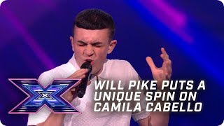 Will Pike puts a UNIQUE spin on Camila Cabello! | X Factor: The Band | Arena Auditions