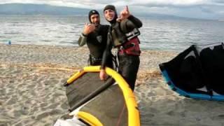 preview picture of video 'Miracolo Liquefazione del Vento di Punta Pellaro (RC) 5 Gennaio 2009'