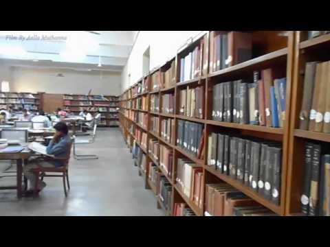 The Library is a one of the biggest library, having more than 5 lacks collection and 11 thousand thesis.   Uploaded by Aella Muthanna on Aug 11, 2013   Osmania University, Hyderabad