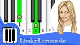 Annette Louisan - Wer bin ich wirklich - Klavier lernen - Musiknoten - Akkorde