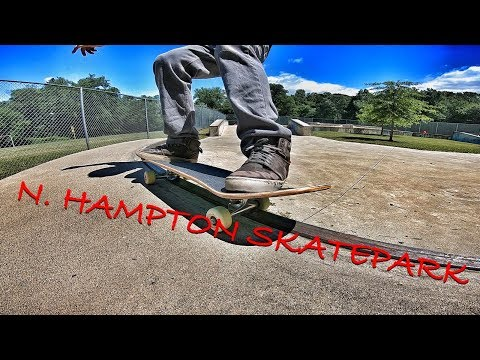 Skateboarding : North Hampton MA. Skatepark