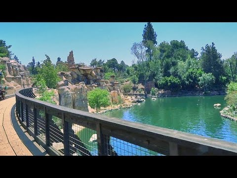 Disneyland Railroad returns FULL FIRST RIDE POV 2017 with new track, new effects at Disneyland