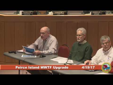Peirce Island Wastewater Treatment Facility Upgrade 4.19.17