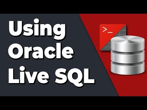 How to use Oracle Live SQL? (How to practice Oracle SQL online)