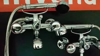 Змішувач для ванни, короткий вилив, Invena Modena від компанії Vemar - все для дому - відео