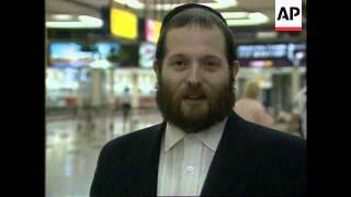 Israel - Arrival Satmar Rebbe