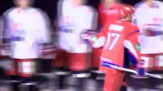Ярославский «Локомотив» сыграл против пражского «Льва»