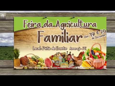 Agricultura familiar em amaraji