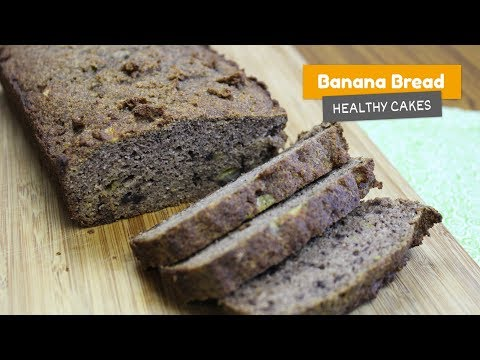 Video recipe: Super healthy BANANA BREAD 🍌 without sugar | Healthy cakes #3