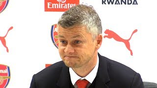 Arsenal 2-0 Manchester United - Ole Gunnar Solskjaer Post Match Press Conference - Premier League