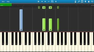 Wale ft. Jeremih - The Body - Piano Tutorial - Synthesia - How to play