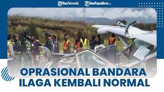 Kemenhub Pastikan Kembali Normalnya Operasional Penerbangan di Bandara Ilaga Kabupaten Puncak Papua