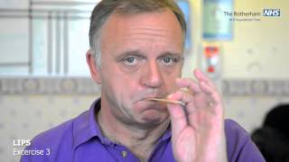Facial exercises - The Rotherham NHS Foundation Trust