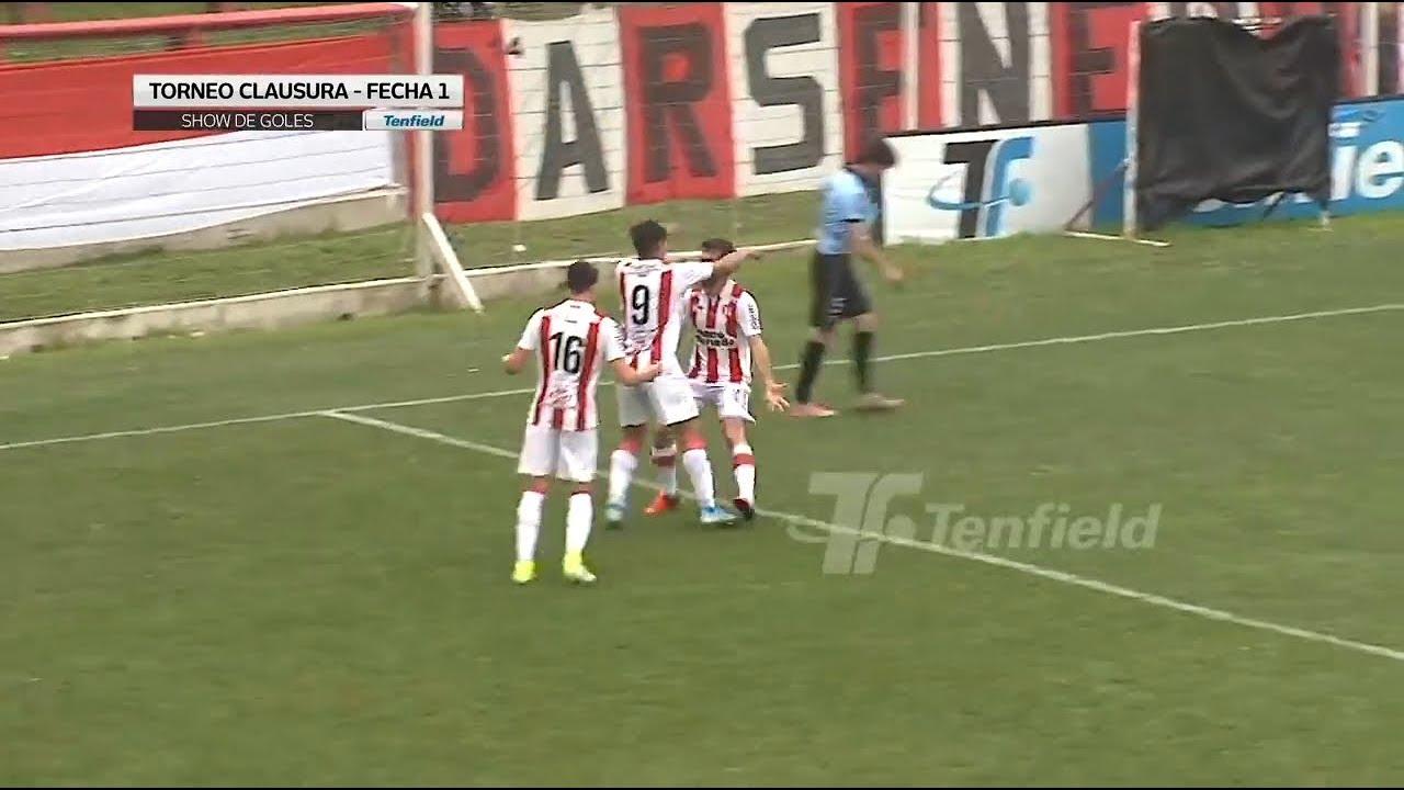 Show de goles de la fecha 1 del Clausura 2019