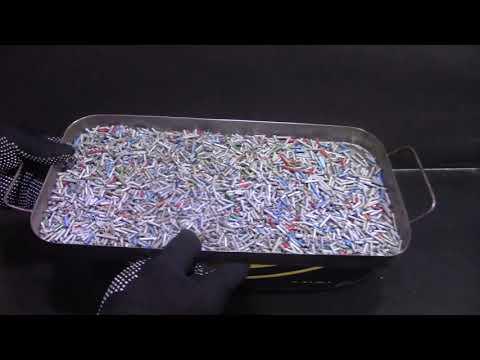 Серебро из трубчатых конденсаторов ( 500 г. )