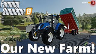 Farming Simulator 19: OUR NEW FARM!! Let's Get Started!