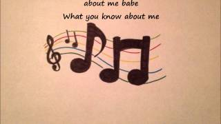 District 3- What You Know About Me (Lyric Video) By @Keels_GregWestx and @BobbyMcNoodle