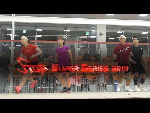 [매치업스쿼시] 전호열-김미랑 vs  이승준-이미화 (S-Top SuperSeries 2019 복식 결승)