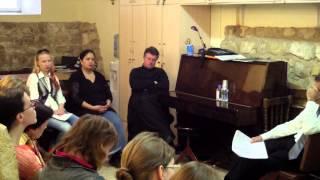 Soli Deo Gloria 2014. Мастер класс Хуан ПАРАДЕЛЬ СОЛЕ (орган, Ватикан)