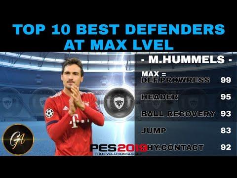 Pes 2019 Best Defenders