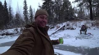 Ловля окуня зимой в хмао