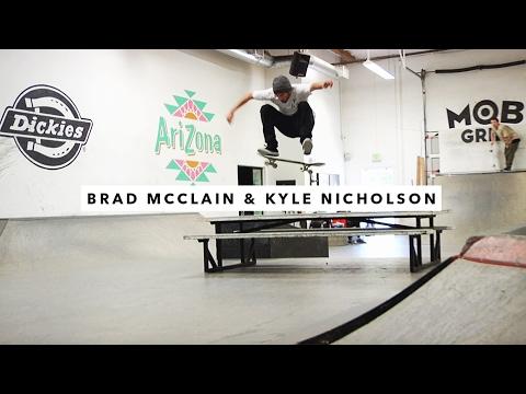 Brad McClain and Kyle Nicholson | TransWorld SKATEboarding