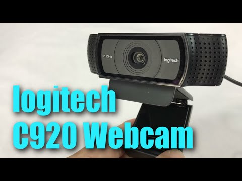 Logitech HD Pro C920 Widescreen 1080p Webcam Camera Review