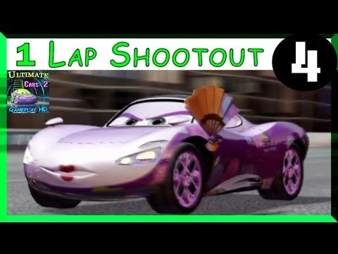 Cherry Blossum Holley PS3 Cars 2 One Lap Shootout Hard Difficulty On Vista Run Part 4