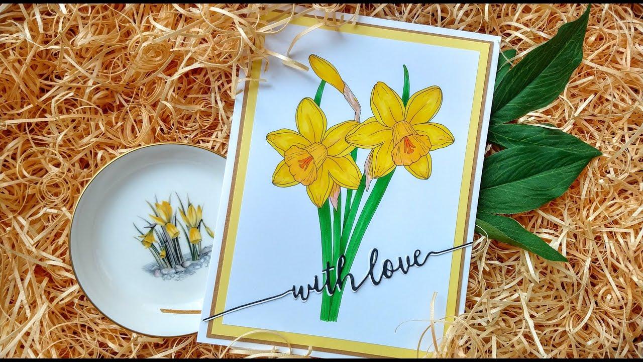 Colouring Daffodils