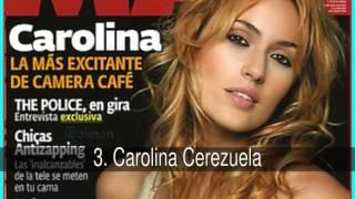 Las Mujeres Más Sexy de las Series Españolas