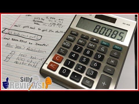 Casio MS-80B Calculator Review