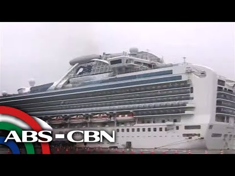 [ABS-CBN]  Higit 500 Pinoy crew sa Diamond Princess cruise ship nakatakdang i-repatriate | TV Patrol
