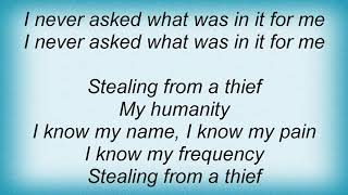 Anthrax - Stealing From A Thief Lyrics