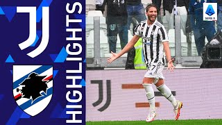 Juventus 3-2 Sampdoria Pekan 6