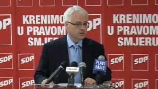Predsjednički kandidat SDP-a Josipović o zaštiti šuma i gospodarenje šumama u Hrvatskoj